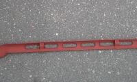 Планка передней панели радиатора Волга (2)